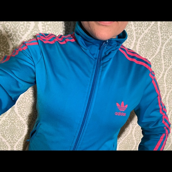 Small adults Adidas firebird track jacket